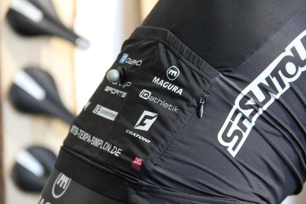 Beim Bikefitting erfassen Hochleistungssensoren gezielt gesetzte Marker am Körper des Radfahrers
