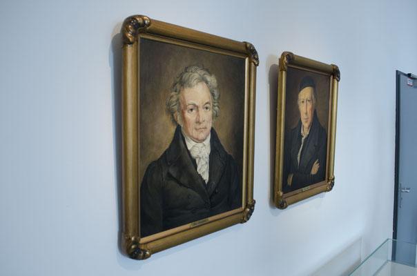 Alois Senefelder und Johann Anton André