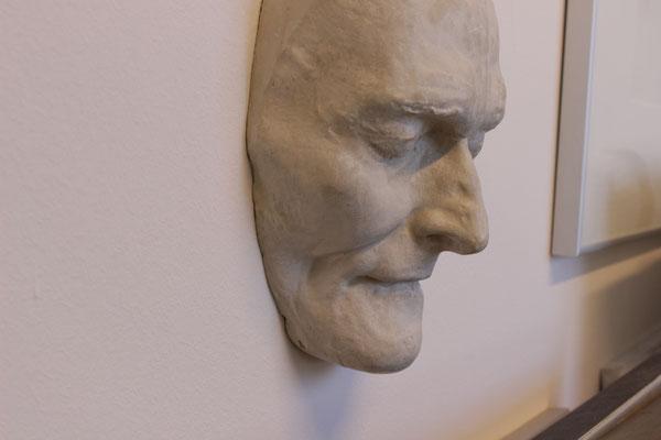 Totenmaske von Alois Senefelder