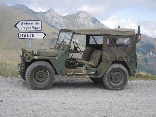 "Ford M151A2 ""Mutt"" (ehem. US Army, Einsatz im Oldtimersport)"