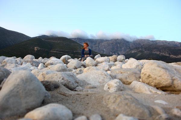 Die Suche 14, self portrait, Apr.2014, Albania