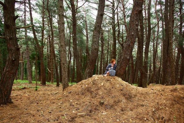Die Suche 13, self portrait, Apr.2014, Montenegro
