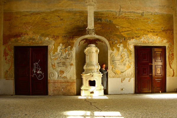 Die Suche 12, self portrait, Apr.2014, Croatia