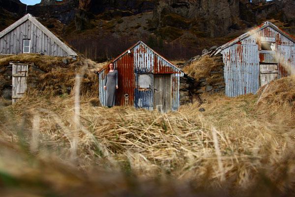 Die Suche 2, self portrait, Mar. 2014, Iceland