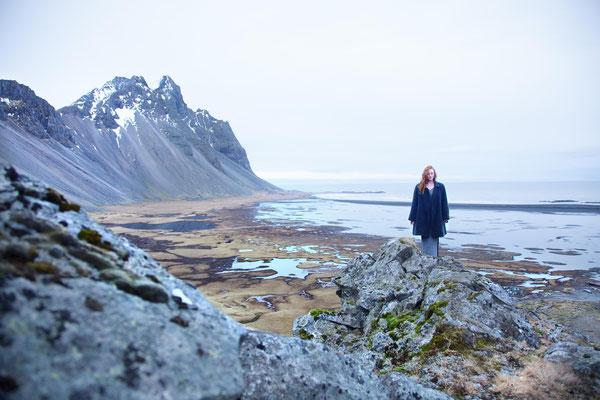 Die Suche 4, self portrait, Mar. 2014, Iceland