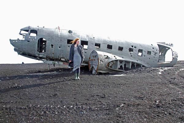 Die Suche 1, self portrait, Mar. 2014, Iceland
