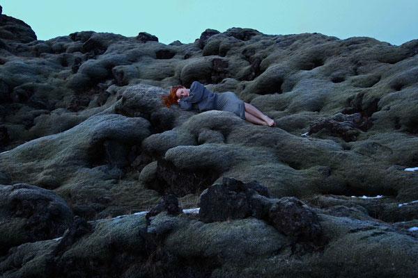 Die Suche 3, self portrait, Mar. 2014, Iceland