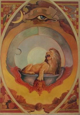 """Sternzeichen """"Löwe"""" Grösse ca. 70x50 cm"""
