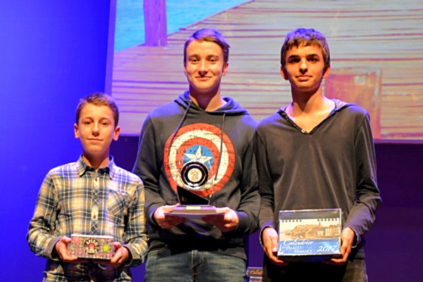 Podium Junior Coupe de Savoie