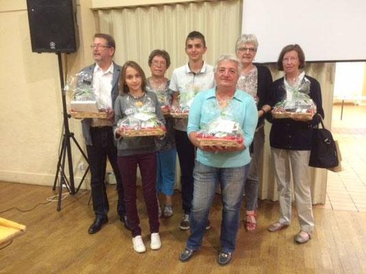 les lauréats du Championnat du Jura