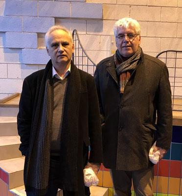 Frédéric BARTIER vainqueur du tournoi et Marc POTEMSKI second (Christophe COMTE, 3ème absent sur la photo)