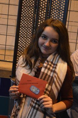 Camille ARISI (RJ17) Championne départementale en catégorie Jeune