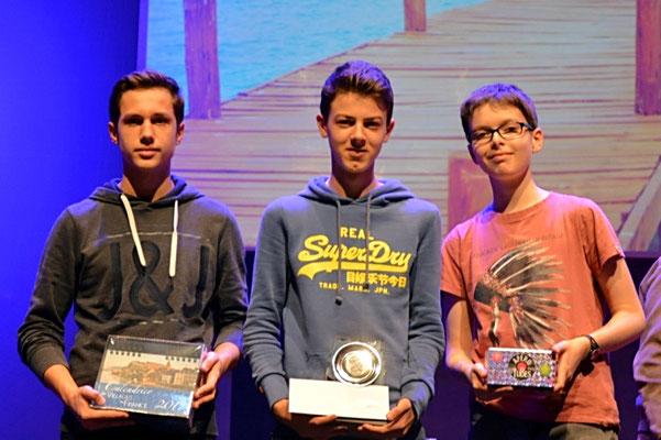 Podium Cadet Coupe de Savoie