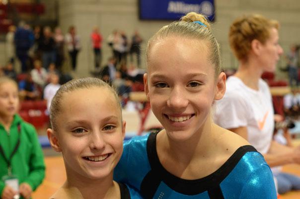 Theresa Geyer und Maila Rüter
