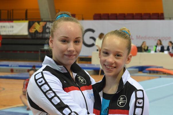Mareike Freund und Maila Rüter