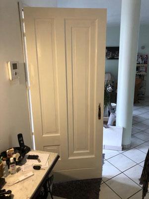 porte d'entrée après rénovation