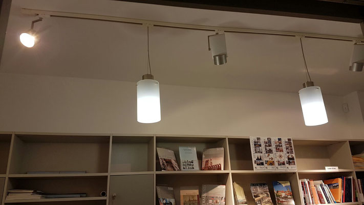Beleuchtung Infobereich - Welterbe Ausstellung - Stralsund