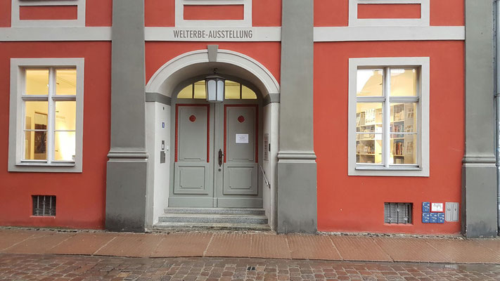 Eingangsbereich - Welterbe Ausstellung - Stralsund