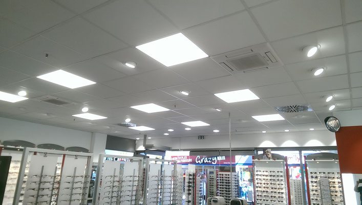 Ladenbeleuchtung - Albrecht Optik Stralsund