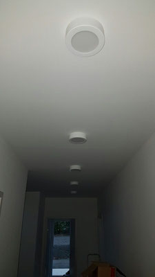 Flur- und Badezimmerbeleuchtung - Kundenobjekt