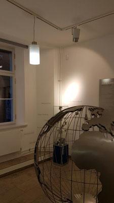 Beleuchtung Kabinett 1 - Welterbe Ausstellung - Stralsund