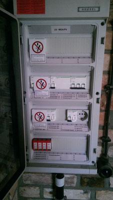Installationselektrik - Mahnkesche Mühle Zoo Stralsund