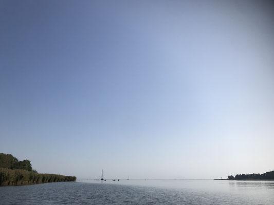 Öffnung der Zarrenzinrinne zum Schwedenstrom