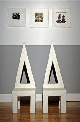 Dreieckstühle