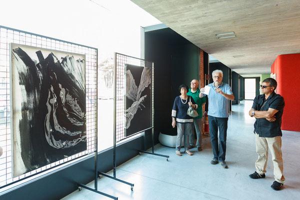 18 Athanor - Opere in mostra presso la Casa della Musica di Cervignano del Friuli (Udine) foto Alessio Buldrin www.fotoegraficaweb.com