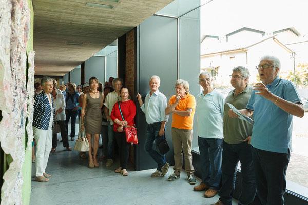 26 Athanor - Opere in mostra presso la Casa della Musica di Cervignano del Friuli (Udine) foto Alessio Buldrin www.fotoegraficaweb.com