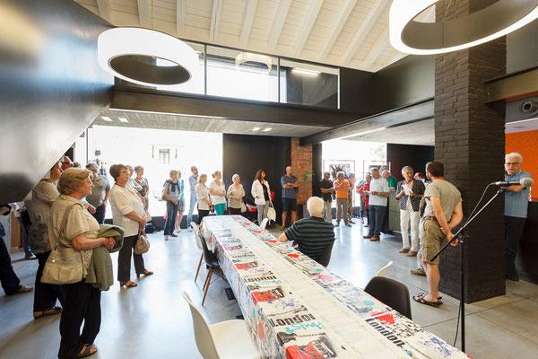 3 Athanor - Opere in mostra presso la Casa della Musica di Cervignano del Friuli (Udine) foto Alessio Buldrin www.fotoegraficaweb.com