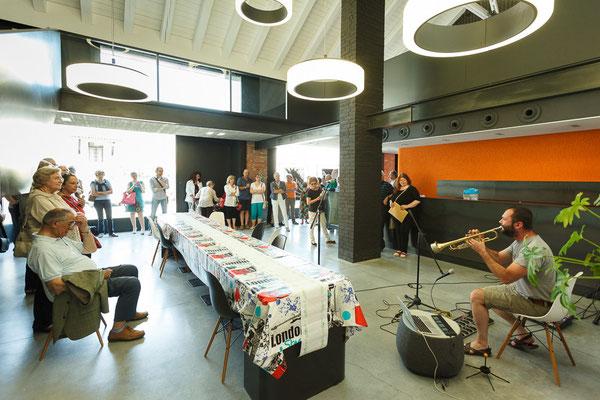 11 Athanor - Opere in mostra presso la Casa della Musica di Cervignano del Friuli (Udine) foto Alessio Buldrin www.fotoegraficaweb.com