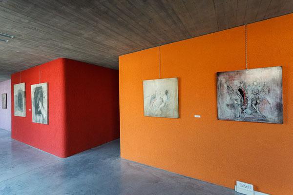 7 Athanor - Opere in mostra presso la Casa della Musica di Cervignano del Friuli (Udine) foto Alessio Buldrin www.fotoegraficaweb.com