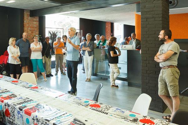 16 Athanor - Opere in mostra presso la Casa della Musica di Cervignano del Friuli (Udine) foto Alessio Buldrin www.fotoegraficaweb.com