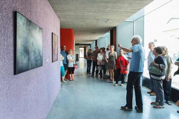 24 Athanor - Opere in mostra presso la Casa della Musica di Cervignano del Friuli (Udine) foto Alessio Buldrin www.fotoegraficaweb.com