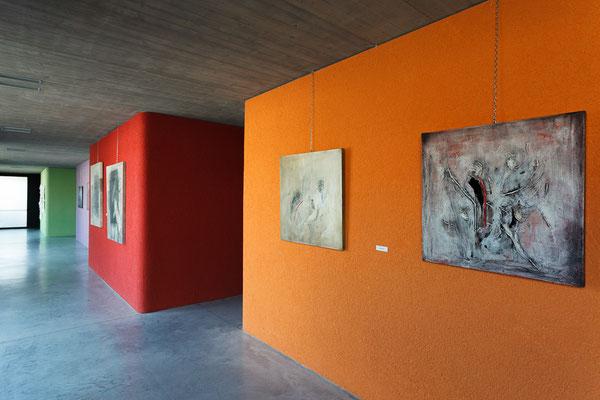 8 Athanor - Opere in mostra presso la Casa della Musica di Cervignano del Friuli (Udine) foto Alessio Buldrin www.fotoegraficaweb.com