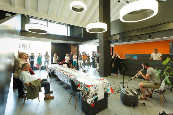 12 Athanor - Opere in mostra presso la Casa della Musica di Cervignano del Friuli (Udine) foto Alessio Buldrin www.fotoegraficaweb.com