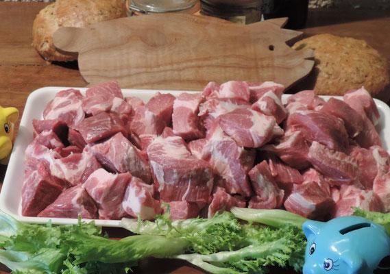 Sauté de porc 7,20€/Kg