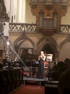 Duo avec Julia Boman, Eglise Saint-Guillaume, Strasbourg, 2016