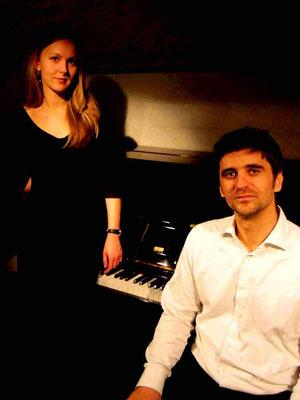 Duo avec Julia Boman, Strasbourg, 2012