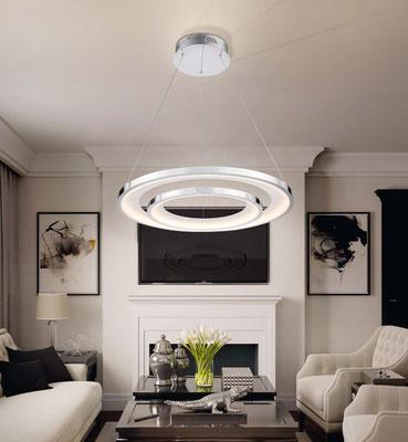 lamparas techo salon