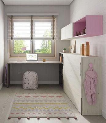 camas abatibles para habitaciones pequeñas 28