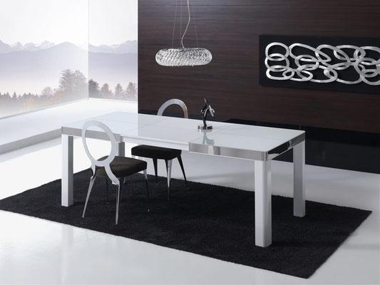 mesa comedor blanca 7