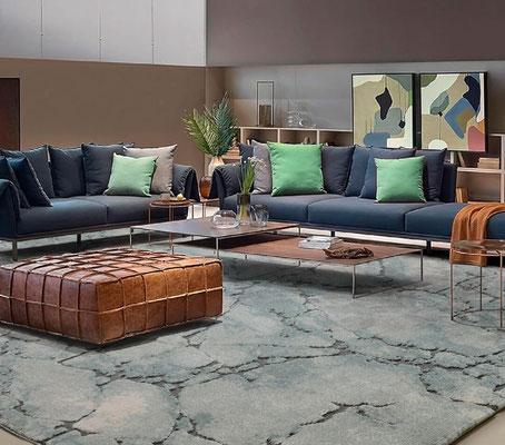 alfombras modernas salon