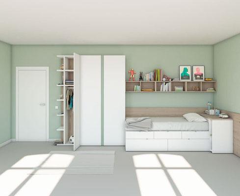 dormitorios juveniles modernos 28N