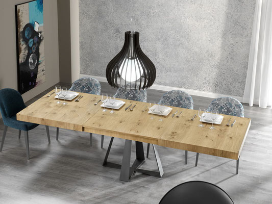 mesas de comedor de madera maciza 7