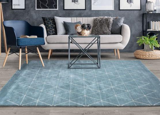 alfombras grandes salon