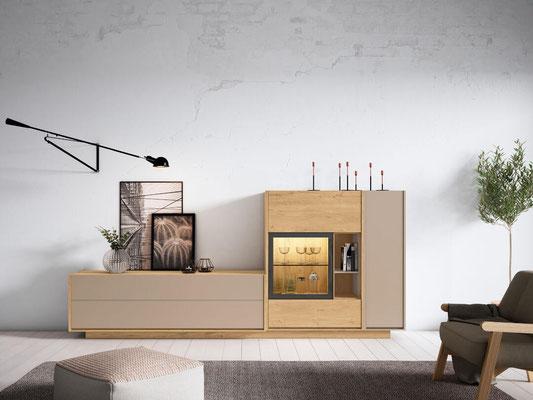 muebles modulares salon 154N