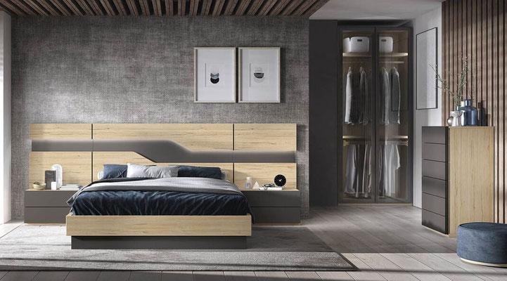 muebles habitacion matrimonio 3N