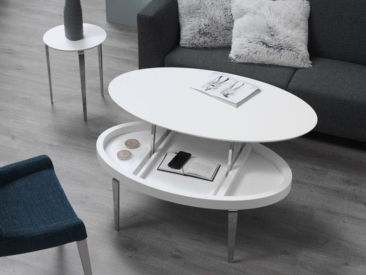 mesa de centro ovalada 7